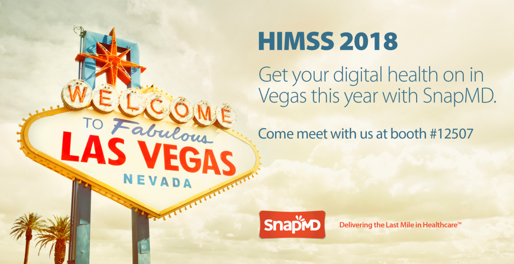 SnapMD HIMSS18 Graphic